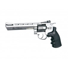 CO2 Dan Wesson 6'' Silver 4,5mm Airgun GNB