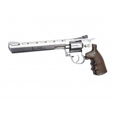 CO2 Dan Wesson 8'' Silver 4,5mm Airgun GNB