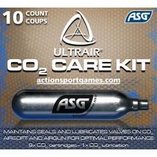 CO2 Cartridge, Ultrair 12g 10pcs 9+1