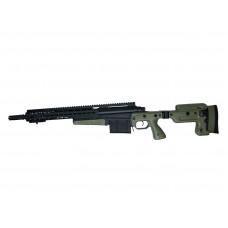 Spring AI MK13 Compact Sniper Rifle Black & OD Green