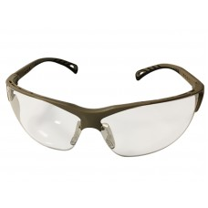 Protective Glasses Adjustable Temples TAN frame Clear