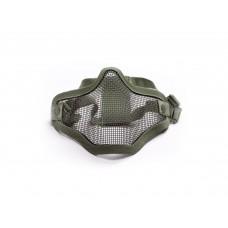 Mesh mask metal OD Green