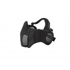 Mesh Mask cheek pad with ear protection Black