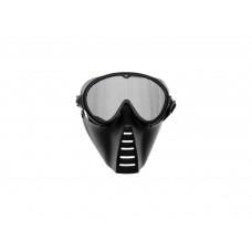 Grid mask Full face Black