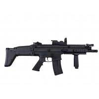 AEG FN Scar Black + Spring FNS-9 Black/Silver