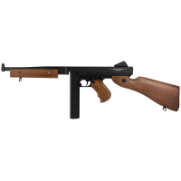 AEG Thompson M1A1 Military FullMetal/Wood