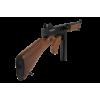 AEG Thompson M1A1 Military FullMetal/Wood