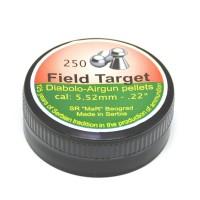 Dijabole 5,5mm FieldTarget zaobljene 250kom