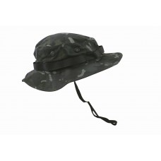 BTP Black Boonie Hat US jungle style - L