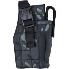 Molle Gun Holster with Mag Pouch BTP Black