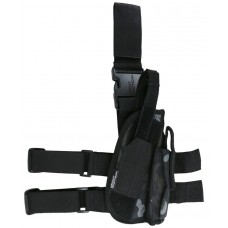 Tactical Leg Holster BTP Black