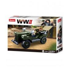 Sluban - B0682 (WWII Allied Light Truck)