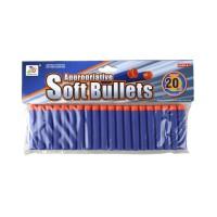 Soft Bullet Darts (7.2cm) - 20 komada pakovanje