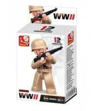 Sluban -  WWII Mini figures B0582A