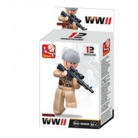 Sluban -  WWII Mini figures B0582B