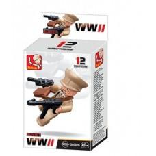 Sluban -  WWII Mini figures B0582C
