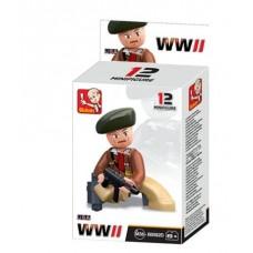 Sluban -  WWII Mini figures B0582D