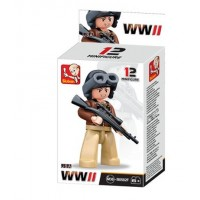Sluban -  WWII Mini figures B0582F