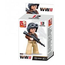 Sluban -  WWII Mini figures B0582F