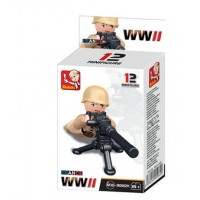 Sluban -  WWII Mini figures B0582H