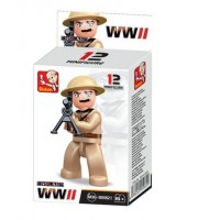 Sluban -  WWII Mini figures B0582I