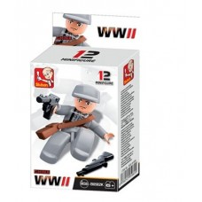 Sluban -  WWII Mini figures B0582K