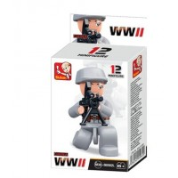 Sluban -  WWII Mini figures B0582L