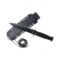Tactical Neck Knife (JL14909-60BK)