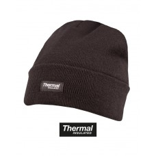 Thermal bob hat Black
