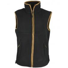 Country Fleece Gilet Black XL