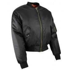 MA1 Bomber Jacket Black XL
