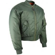 MA1 Bomber Jacket Green XL