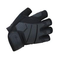 Alpha Fingerless Tactical Gloves Black XL
