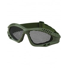 Tactical Mesh Glasses Olive Green