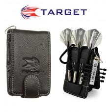 Target Compact Black Wallet
